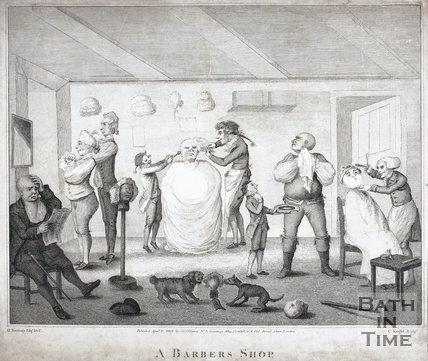 A Barber's Shop 1803