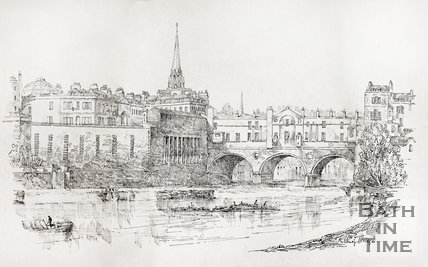 Pulteney Bridge, Bath c.1890