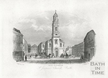 St. James's Church, Bath 1850