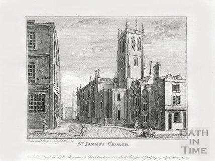 St. James's Church, Bath 1784