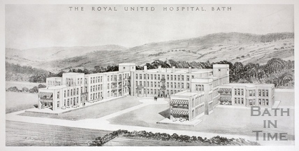 The Royal United Hospital, Weston, Bath c.1930