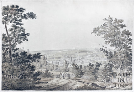Distant View of Bath 1792