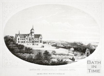 Lansdown Proprietary College, Bath c.1857