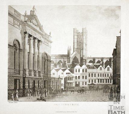 High Street, Bath 1793