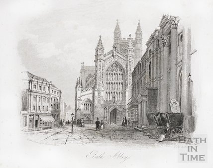 Bath Abbey, Bath 1846