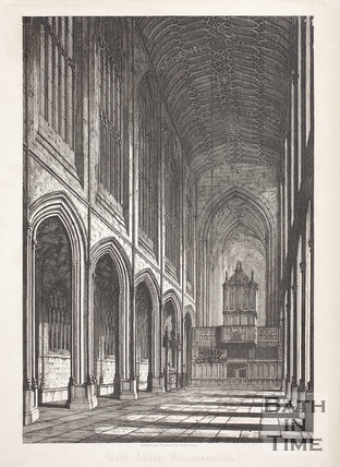 Bath Abbey, Bath 1818