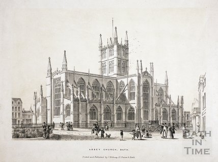 Abbey Church, Bath c.1840