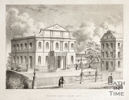 Wesleyan Chapel, Walcot, Bath c.1850?