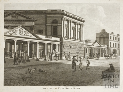 View of the Pump Room 1801