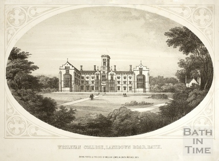 Wesleyan College, Lansdown Road, Bath c.1857