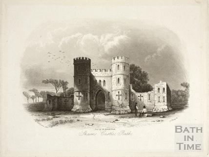 Sham Castle, Bath 1844