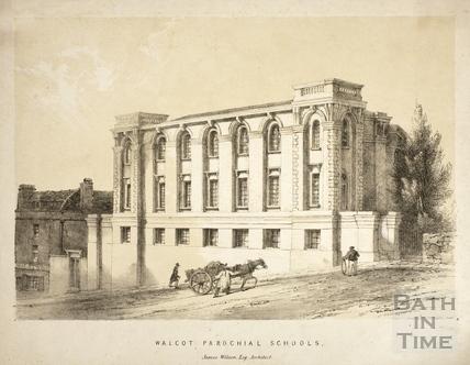 Walcot Parochial Schools, Bath c.1840
