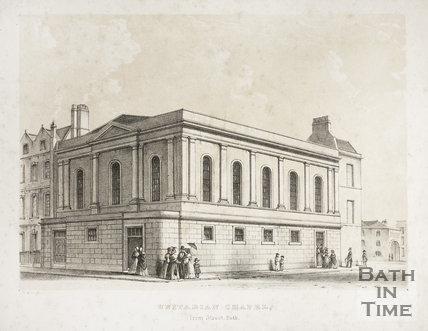 Unitarian Chapel, Trim Street, Bath c.1840?