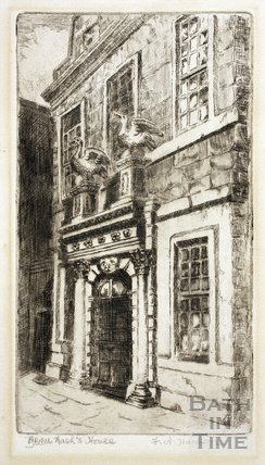 Beau Nash's House, Sawclose, Bath