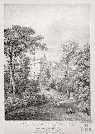 St. Catherine's Hermitage, Lansdown c.1835