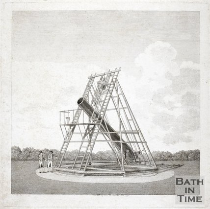 Early telescope of William Herschel 1794