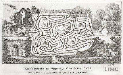 The Labyrinth in Sydney Gardens, Bath