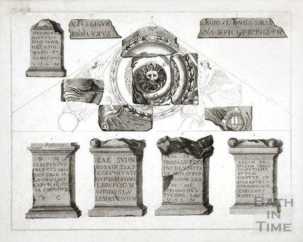 Roman Antiquities found at Bath
