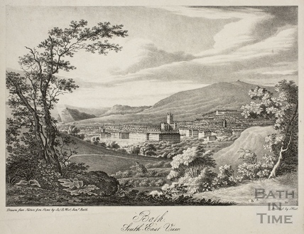 South East View of Bath c.1833