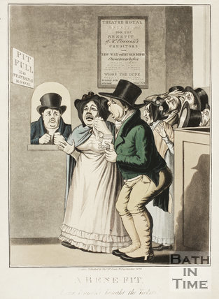 A Bene-Fit. I wish I hadn't bought the tickets! 1826