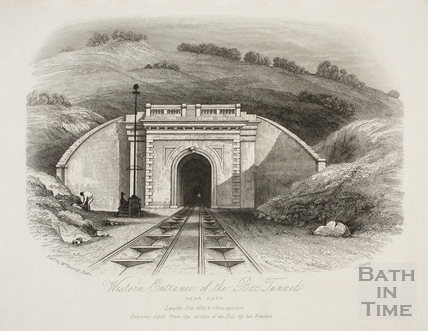 Western Entrance of the Box Tunnel near Bath
