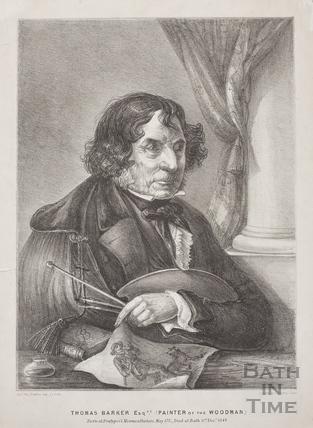 Thomas Barker Esq. (Painter of the Woodman) 1770