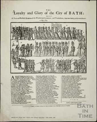 Loyalty and Glory of the City of Bath 1689