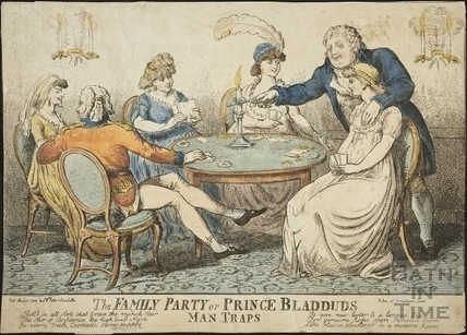 The Family Party or Prince Bladud's Man Traps 1799