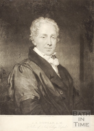 J.S. Duncan AM. Fellow of the New College, Oxford 1826