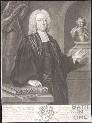 Christopher Clarke MA of Marlingford, Norwich 1740