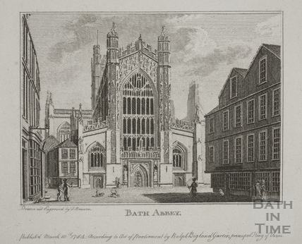 Bath Abbey, Bath 1784