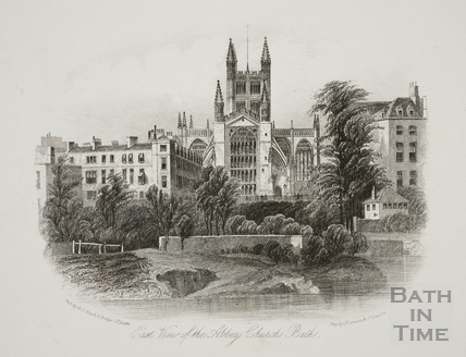 East View of the Abbey Church, Bath c.1885