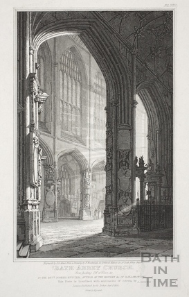 Bath Abbey Church, Bath 1820