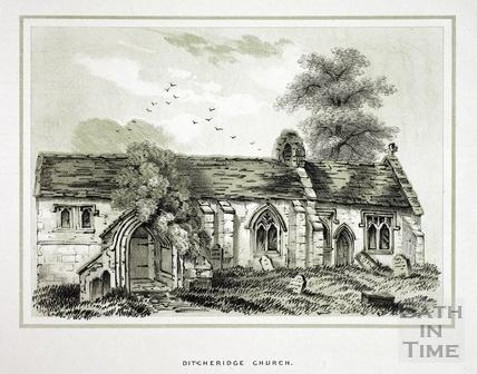 Ditcheridge - Ditteridge Church 1853