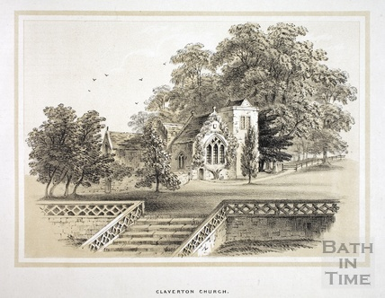 Claverton Church 1853