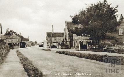 Bloomfield Road, Noad Corner 1939