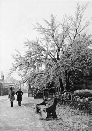 Noad Corner in the winter, 1941