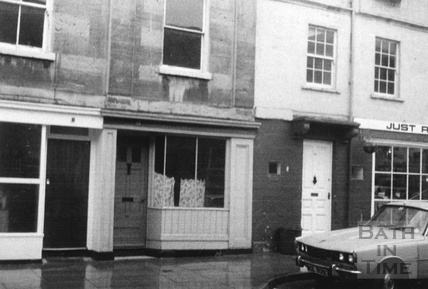 31-33 Monmouth Street, shop fronts in Bath 1970s
