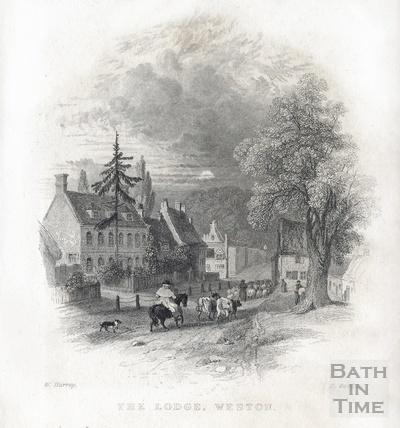 The Lodge, Weston 1836