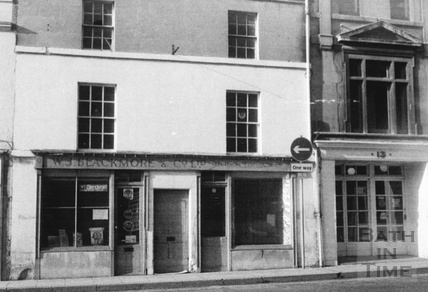 W.J. Blackmore & Co, electrical contractors, Walcot Street, Bath 1960s