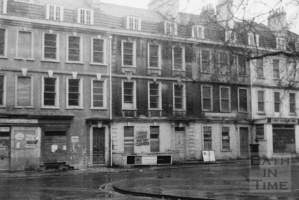Kingsmead Square before restoration 1960s