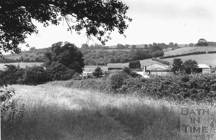 View from Broadmoor Lane, Weston 5 July 1993
