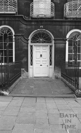 Doorway, Great Pulteney Street c.1974