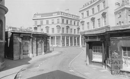 View of the Cross Bath and Hot Bath, Hot Bath Street 1974