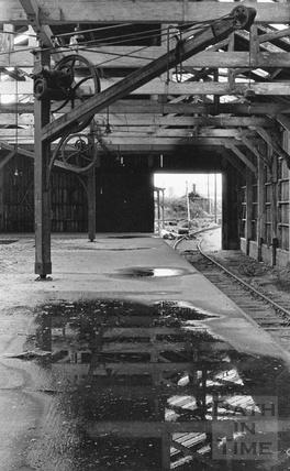 The railway shunting yard at Green Park Station c.1972
