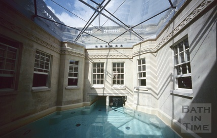 The refurbished Hot Bath, August 2003