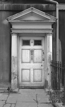Doorway, New King Street c.1974