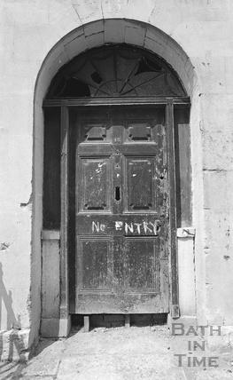 Doorway, 15 New King Street c.1974