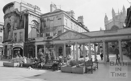The Colonnades, Stall Street, Bath 1974