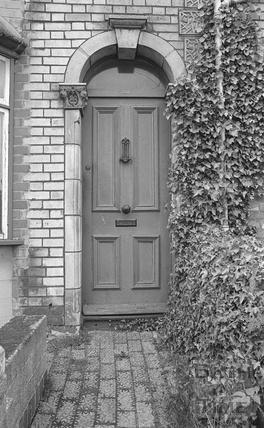 Doorway, 20 Avondale Road, Lwer Weston c.1974